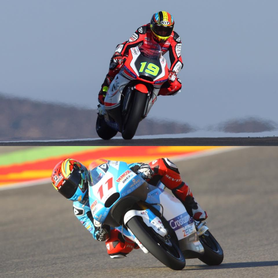 Assisted Zelos' pilots Siméon and Loi in deals with Tasca and Leopard for Moto2 and Moto3