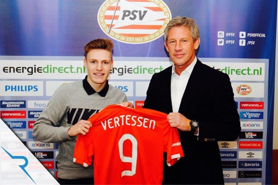 Assisted Belgian Red Devils U16 striker Yorbe Vertessen
