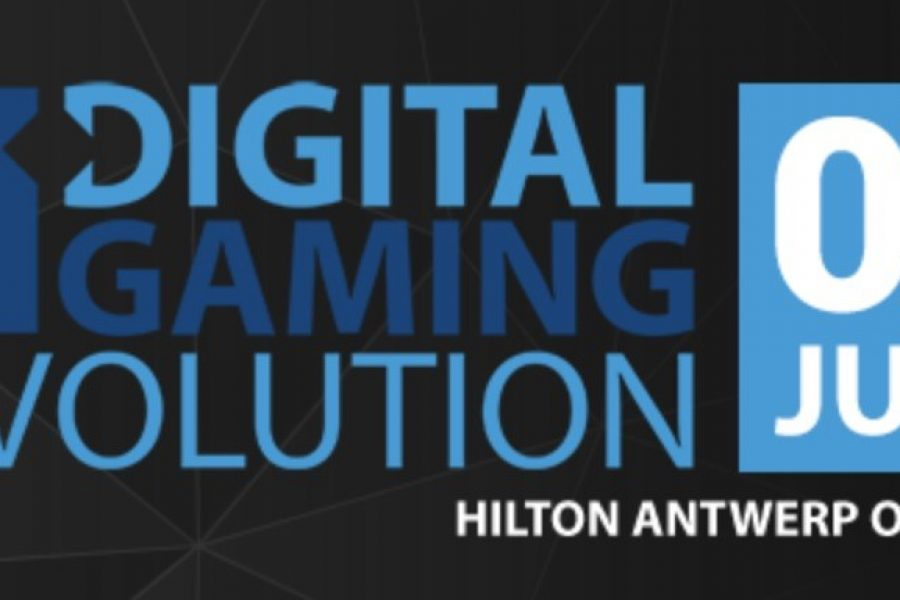 Arnaut Kint speaking about eSports at the Digital Gaming Revolution Conference