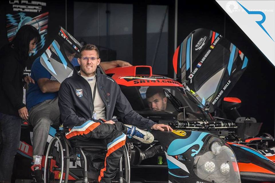 Road to 24h Le Mans: Zelos and Nigel Bailly team up to race in 2020 with the first ever team of disabled drivers