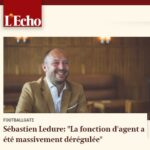 Cresta's managing partner Sébastien Ledure interviewed in L'Echo