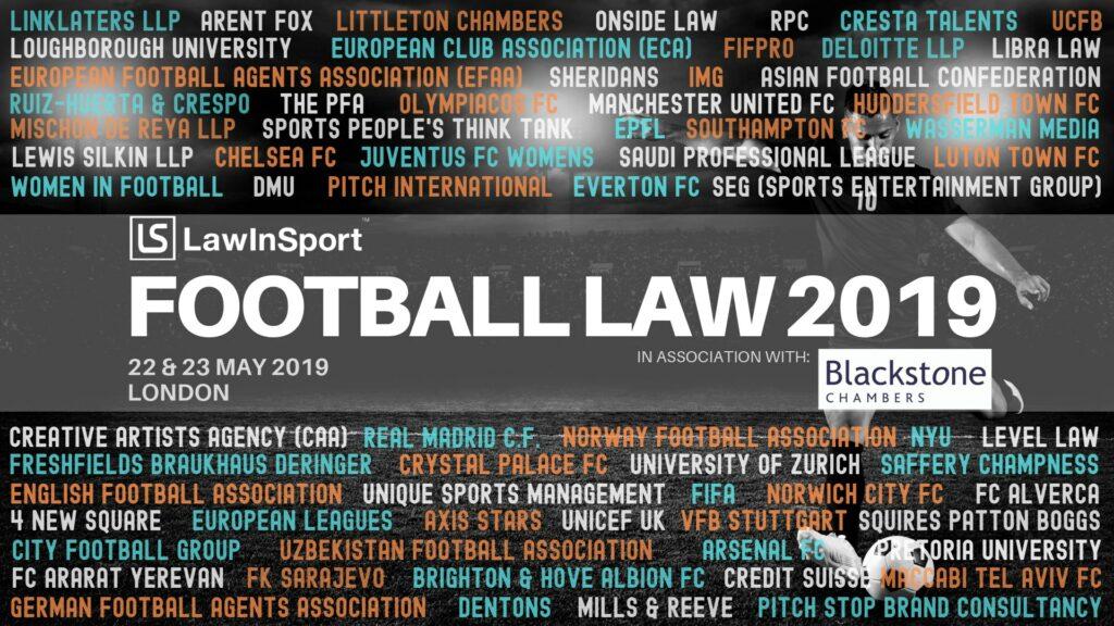 LawInSport 2019