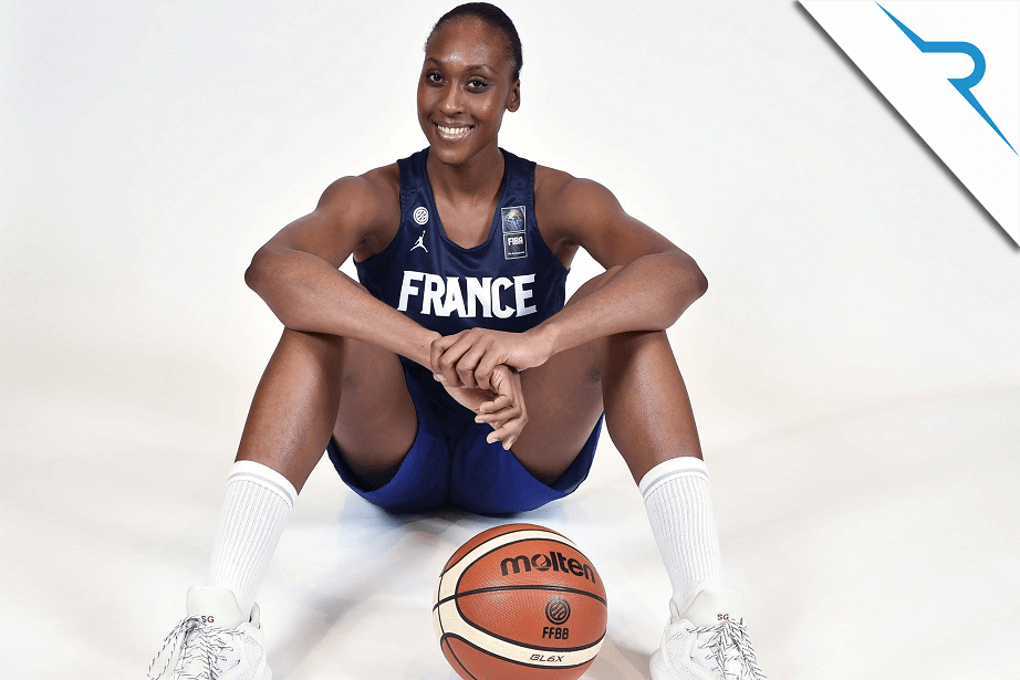Assisting French national team basketball player Sandrine Gruda