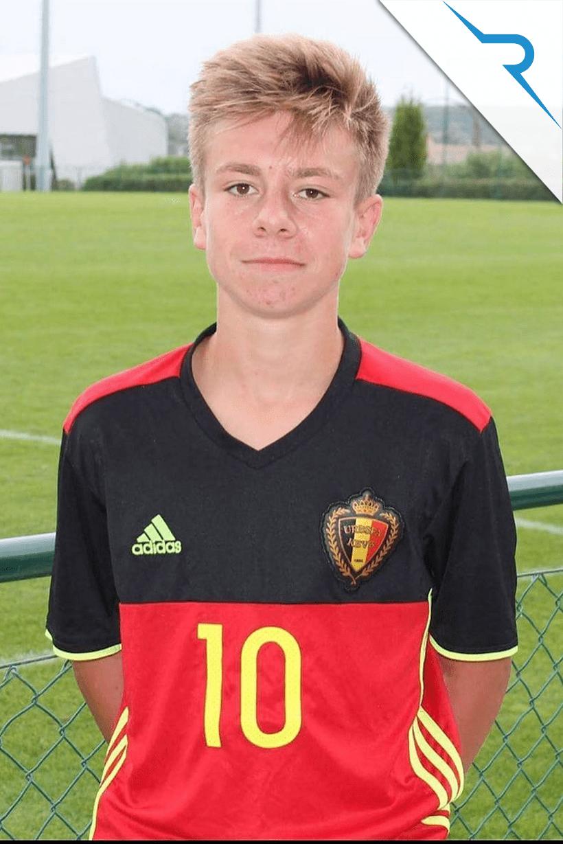 Assisted Belgian Red Devils U18 Stan Van Dessel