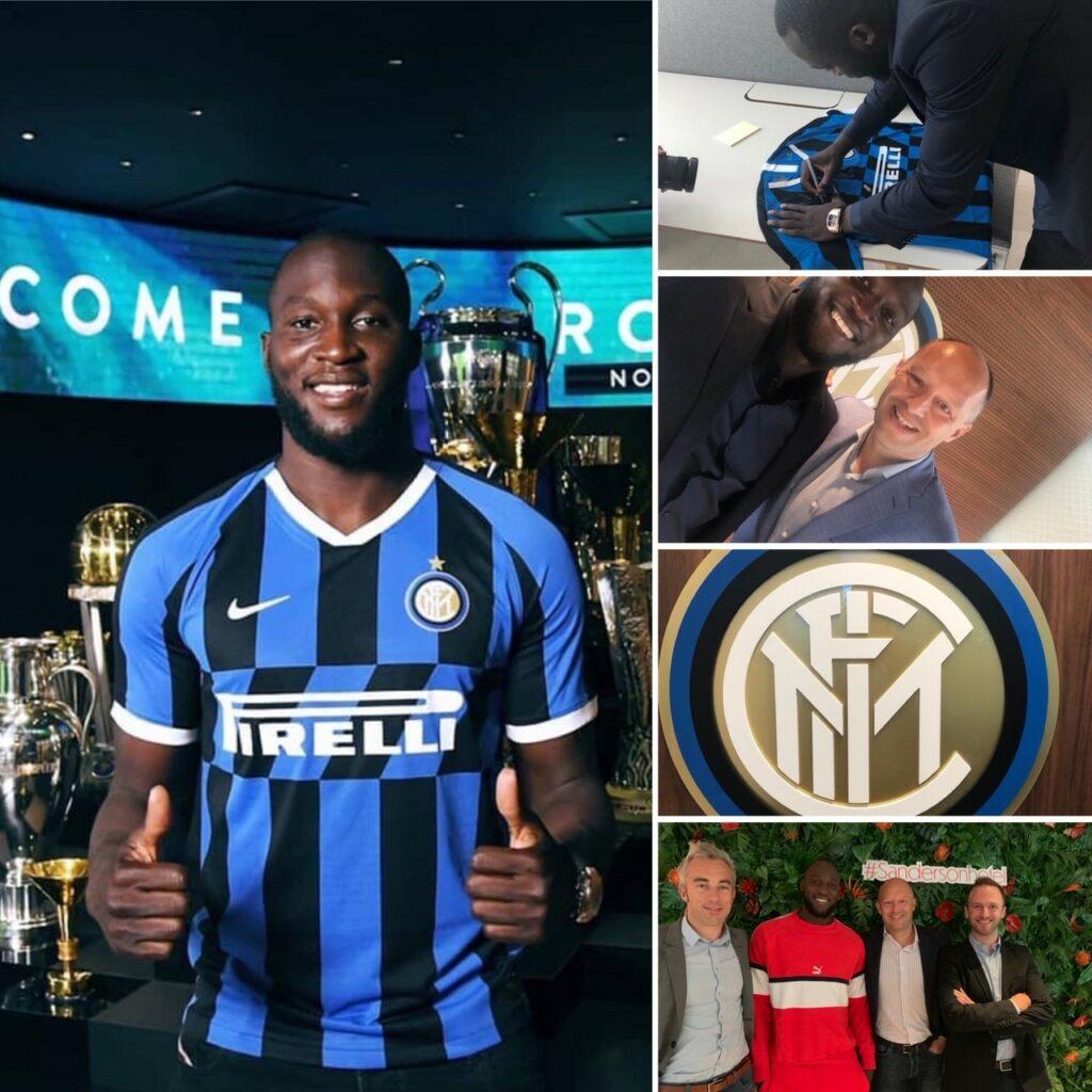 Romelu Lukaku - Inter Milan - CRESTA 1