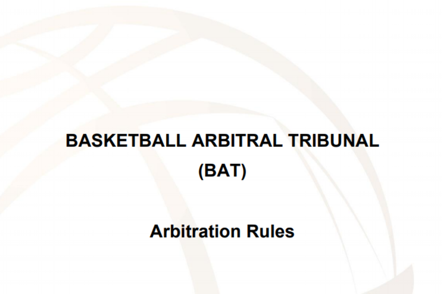 FIBA BAT issued an update of its procedural rule