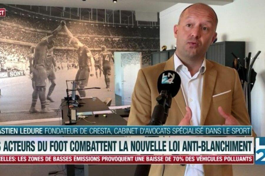 LN24: Sébastien Ledure on the application of Belgian anti-money laundering legislation to the football industry