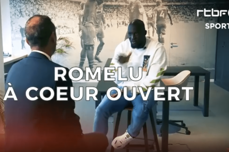 Romelu Lukaku interviewed by RTBF Sport at CRESTA's office