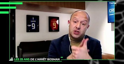 Sébastien Ledure invited by RTBF Sport in La Tribune to review the evolution since the Bosman ruling