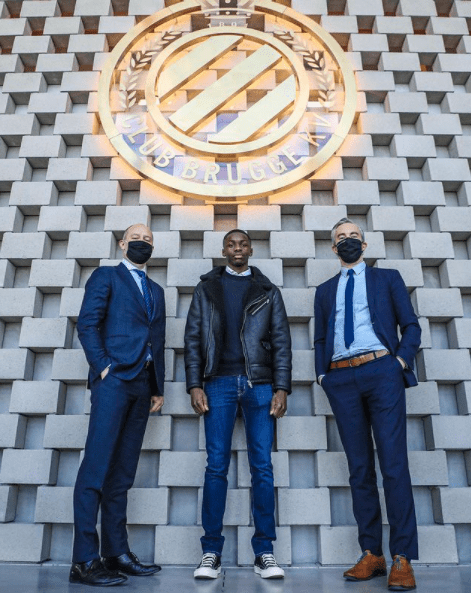 CRESTA assisted Noah Mbamba for the signing of his first professional contract with Club Brugge