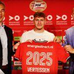 Yorbe Vertessen extending his contract with PSV
